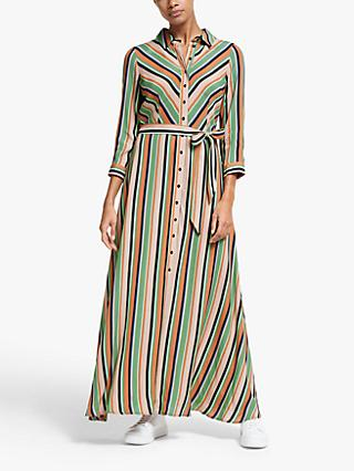 Y.A.S Ederne Stripe Maxi Dress, Multi