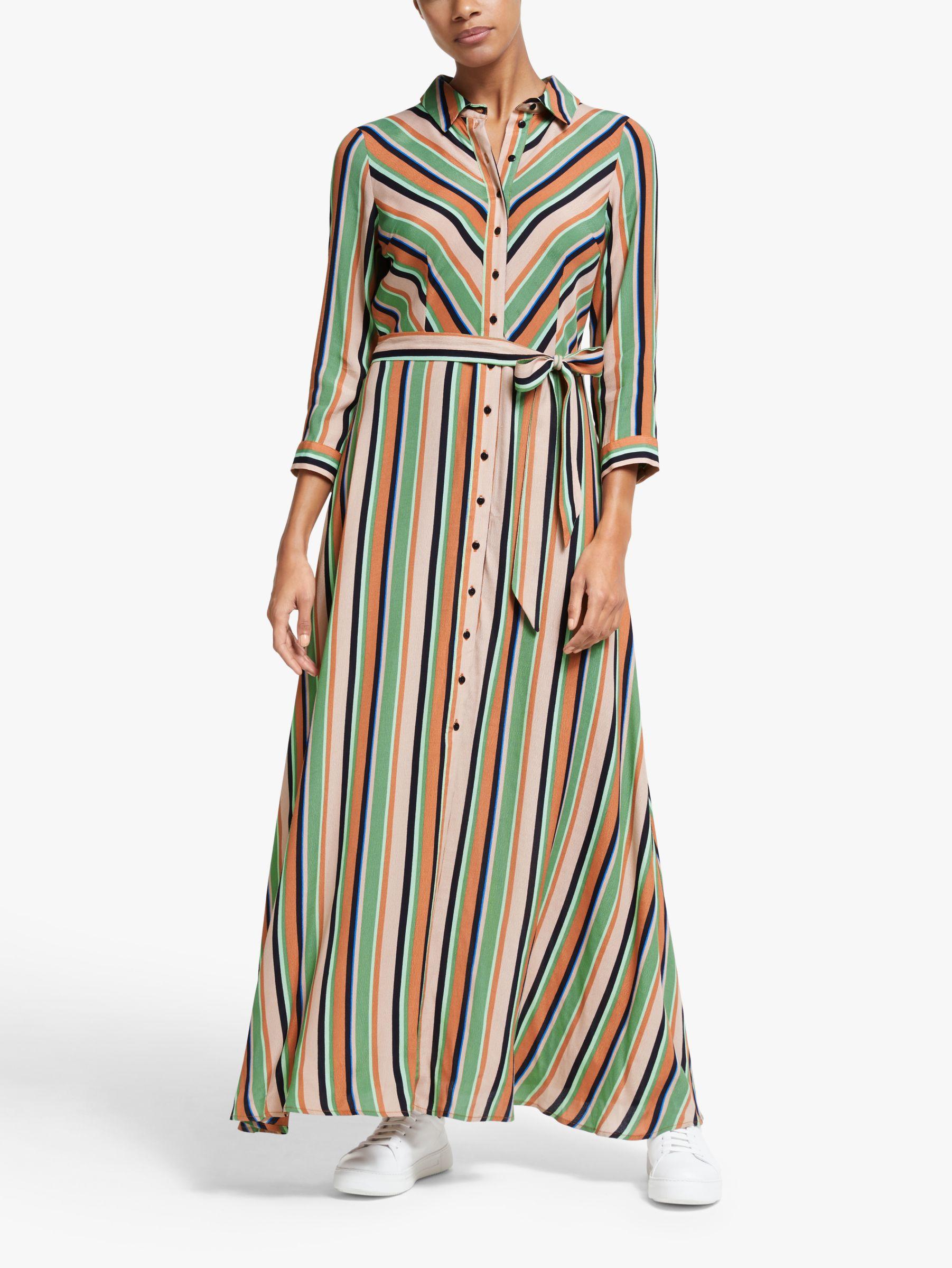 Y.a.s Y.A.S Ederne Stripe Maxi Dress, Multi