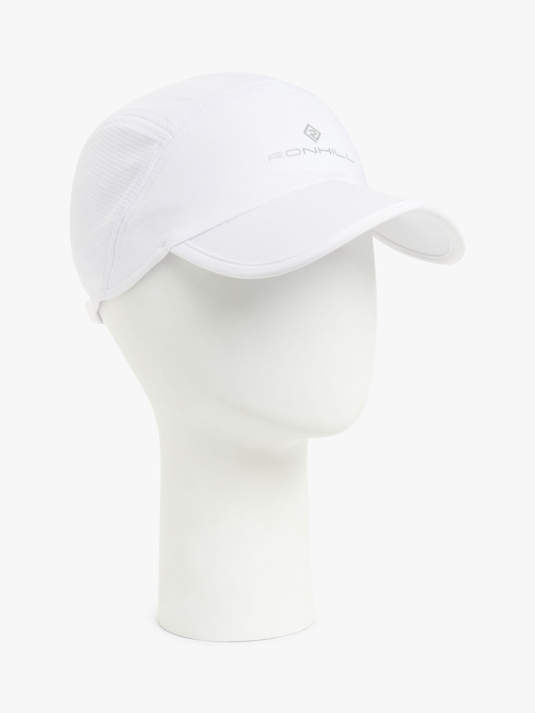Ronhill Ronhill Split Air-Lite Running Cap, Bright White