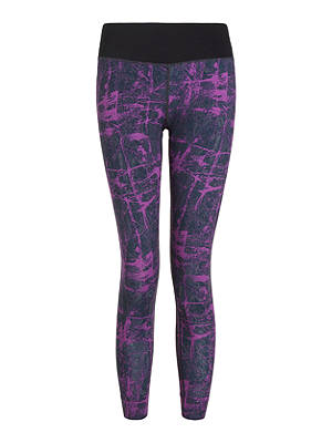 Buy Ronhill Momentum Cropped Running Tights, Grape Juice Rock, 8 Online at johnlewis.com