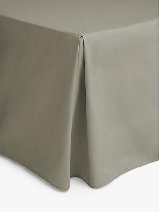 John Lewis & Partners Crisp and Fresh 200 Thread Count Egyptian Cotton Centre Pleat Valance