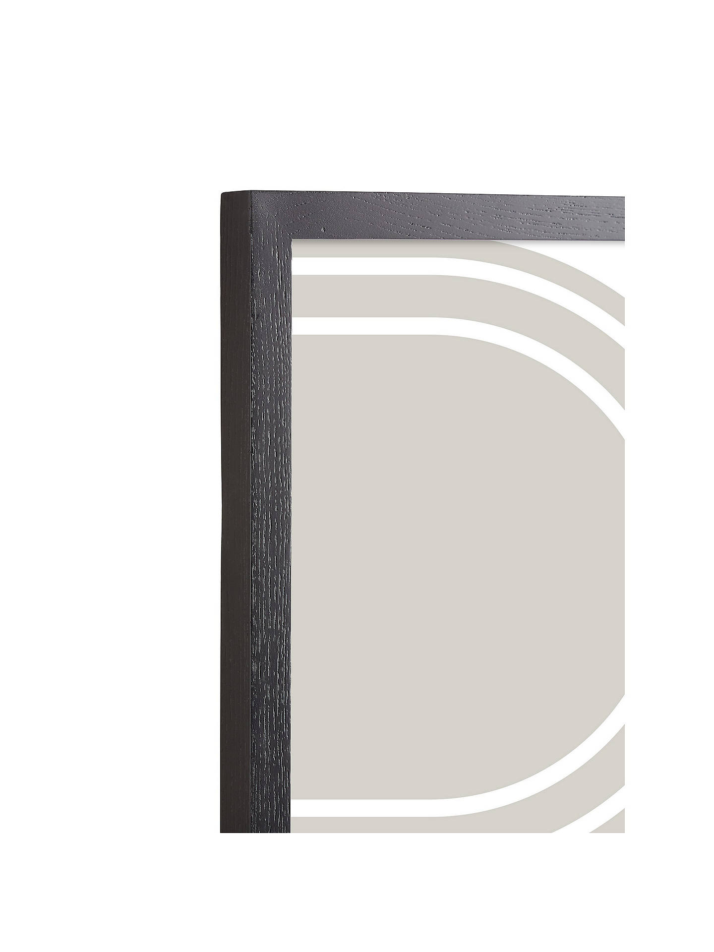 Buy John Lewis & Partners Grove Ash Wood Poster Frame, Black, A4 (21 x 30cm) Online at johnlewis.com