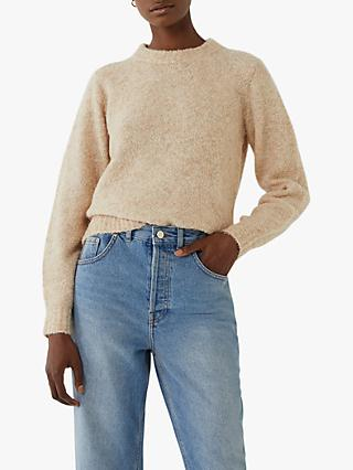 Warehouse Teddy Boucle Jumper