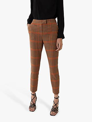 Warehouse Check Slim Leg Trousers, Multi
