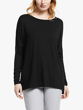 Ilse Jacobsen Hornbæk Plain Jersey Top, Black