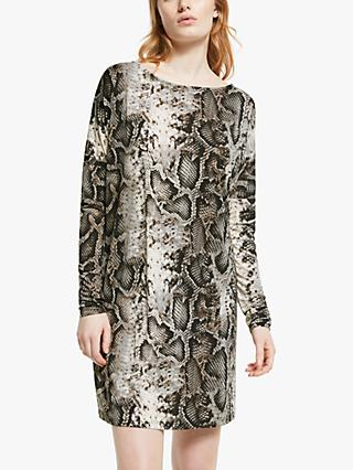Ilse Jacobsen Hornbæk Crezia Snake Print Dress, Multi