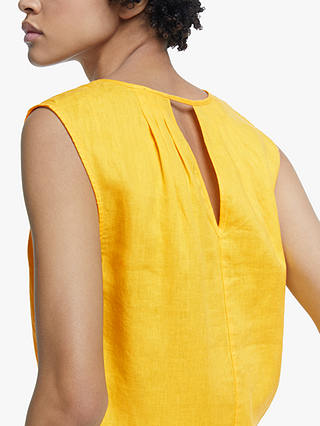 Buy John Lewis & Partners V-Neck Dress, Yellow, 8 Online at johnlewis.com