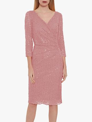 Gina Bacconi Belle Lace Wrap Dress
