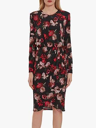 Gina Bacconi Faiza Floral Dress, Multi