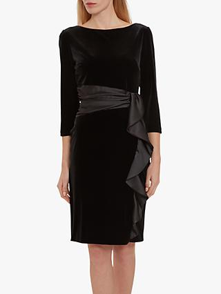 Gina Bacconi Halen Stretch Velvet Dress