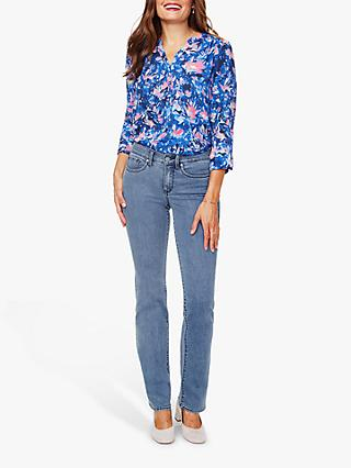 NYDJ Marilyn Straight Leg Regular Jeans, Delray