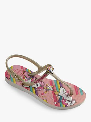 Havaianas Children's My Little Pony Freedom Flip Flops, Pink