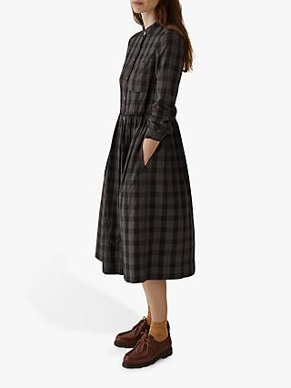 Toast Chalkboard Cotton Shirt Dress
