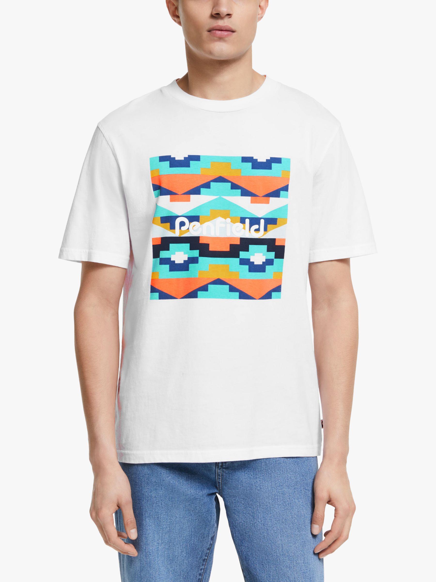 Penfield Penfield Sandtoft Print T-Shirt, White