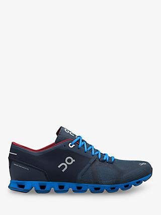 On Cloud X Men's Cross Trainers, Midnight Cobalt