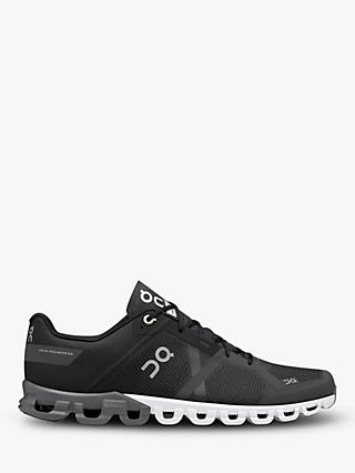 On Cloud Flow Men's Running Shoes, Black/Asphalt