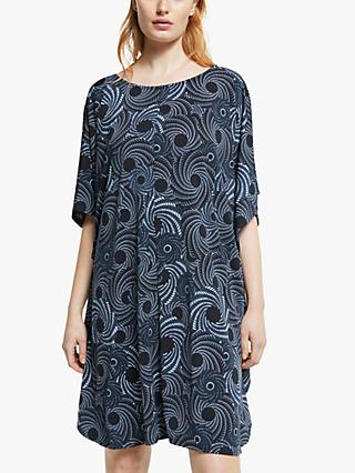 Ilse Jacobsen Hornbæk Abstract Print Dress, Midnight