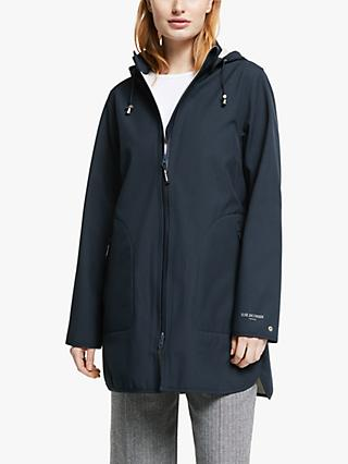 Ilse Jacobsen Hornbæk Raincoat, Dark Indigo
