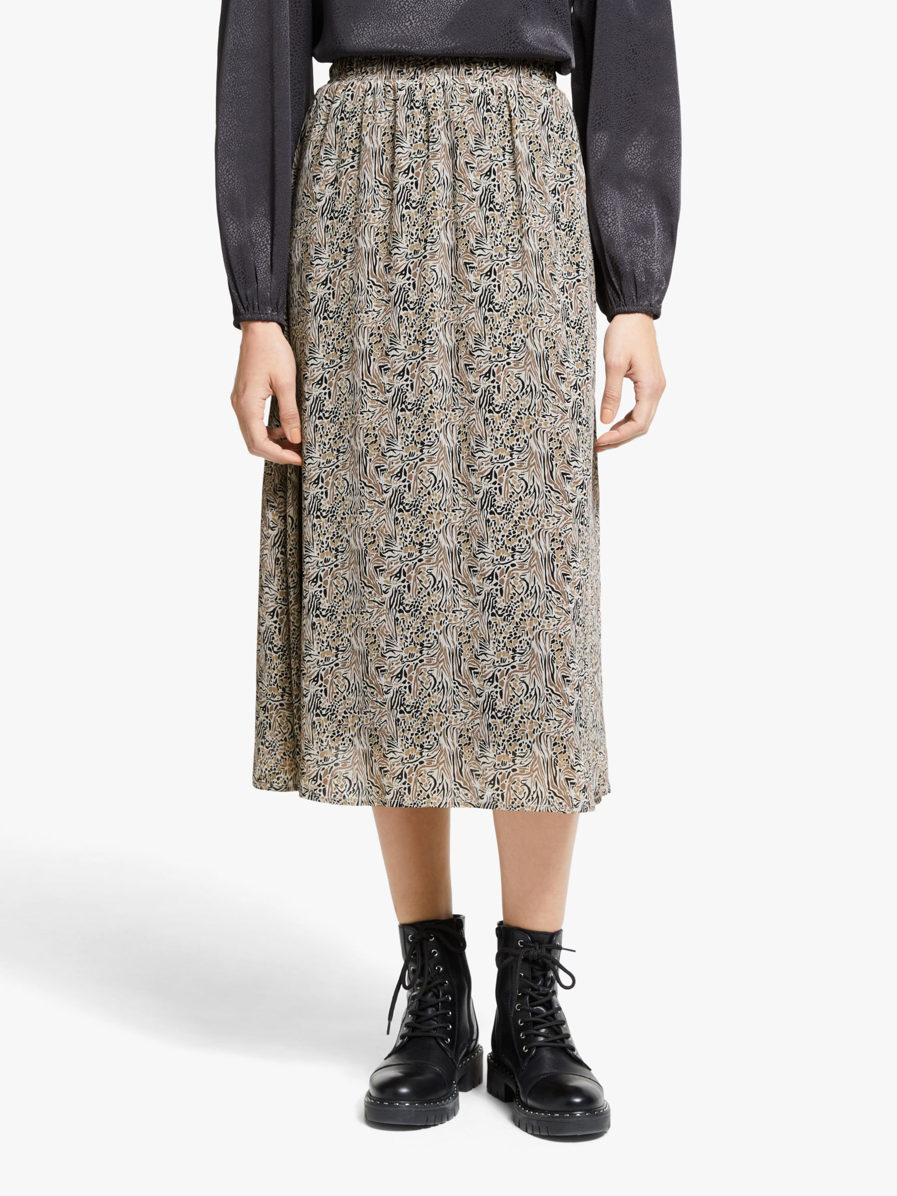 Vero Moda AWARE BY VERO MODA Josephine Midi Skirt, Birch