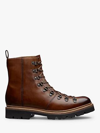 Grenson Brady Hiker Boots, Brown