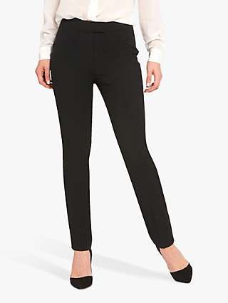 Helen McAlinden Jill Wool Blend Tailored Trousers, Black