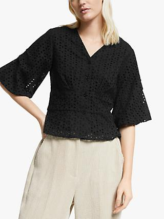 Second Female Milly Blouse, Black