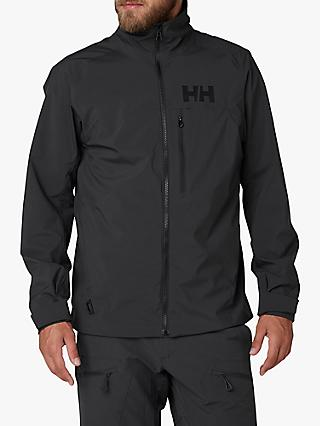 Helly Hansen HP Racing Men's Waterproof Jacket, Ebony