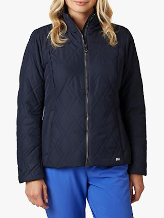 Helly Hansen Crew Insulator Women's Water Repellent Jacket, Navy