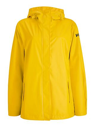 Helly Hansen Moss Women's Windproof Jacket, Essential Yellow