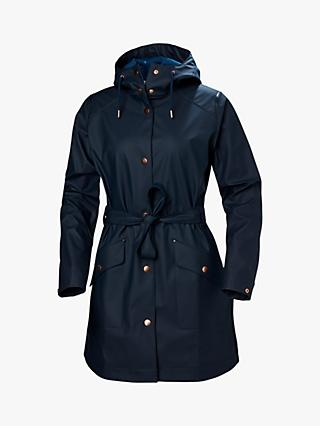 Helly Hansen Kirkwall II Women's Waterproof Raincoat, Navy