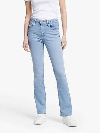 Levi's 725 High Rise Boot Cut Jeans, San Francisco Coast