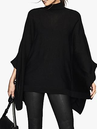 Reiss Lolita Roll Neck Batwing Knit