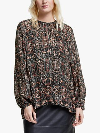 Second Female Signe Blouse, Black Multi