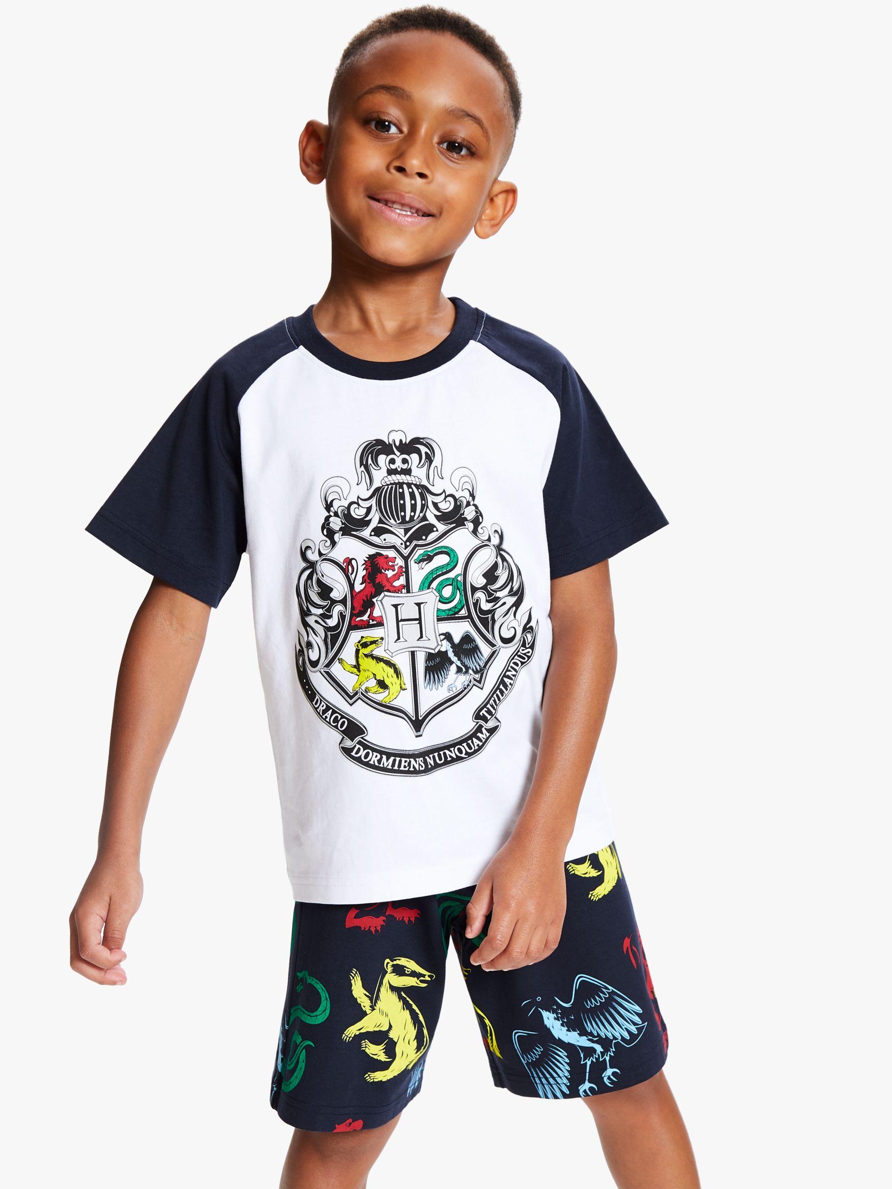Harry Potter Harry Potter Boys' Short Pyjamas, White