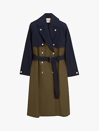 Mulberry Mae Trench Coat, Khaki