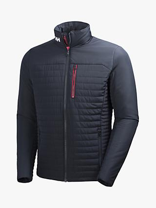 Helly Hansen Crew Insulator Men's Water Repellent Jacket, Navy