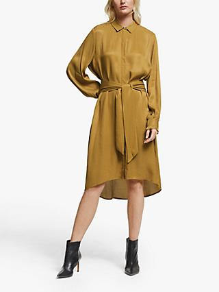 Gestuz Merlegz Shirt Dress, Bone Brown