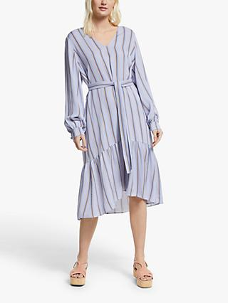 Gestuz Umaygz Stripe Dress, Blue/Multi