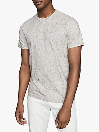 Reiss Dover Melange T-Shirt, Grey