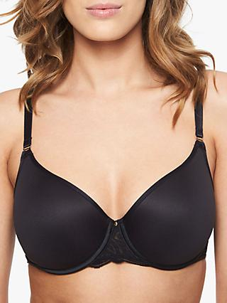 Chantelle Pyramide T-Shirt Bra, Black