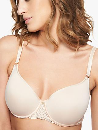 Chantelle Pyramide T-Shirt Bra, Golden Beige