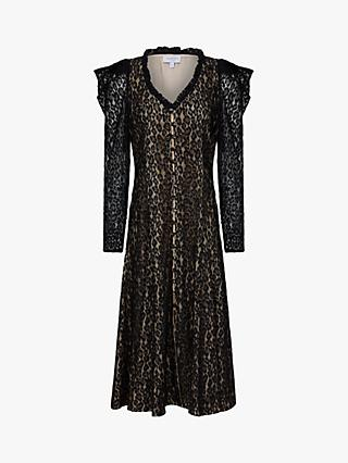 Ghost Esme Lace Dress, Black