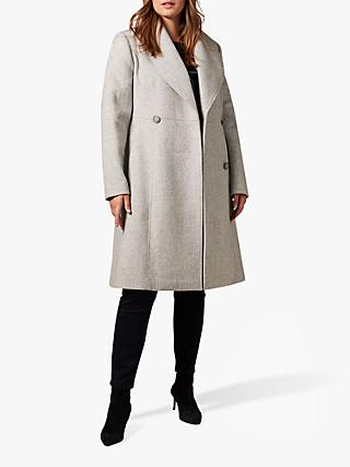 Studio 8 Ayda Wool Blend Coat, Grey