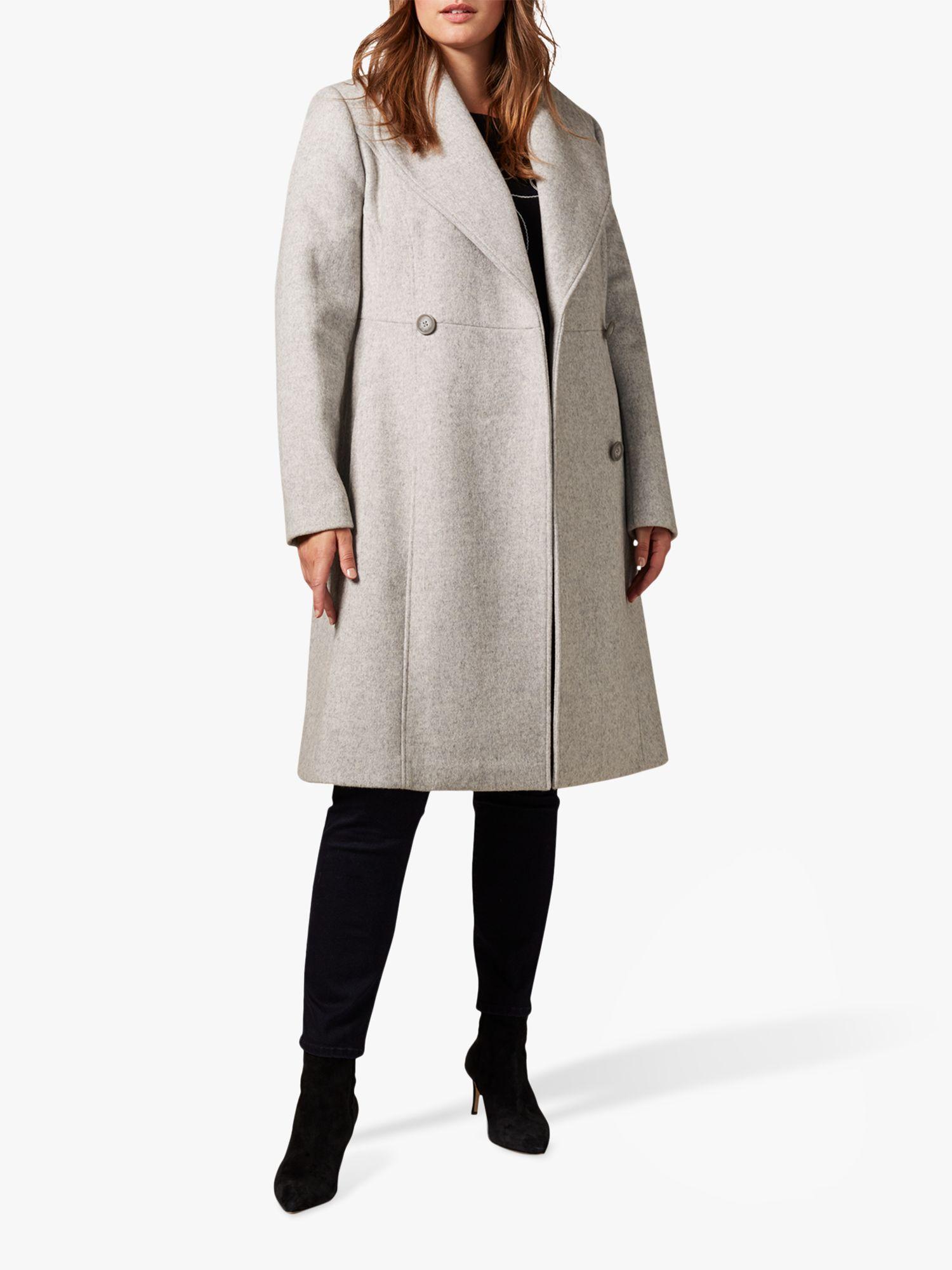 Studio 8 Studio 8 Ayda Wool Blend Coat, Grey