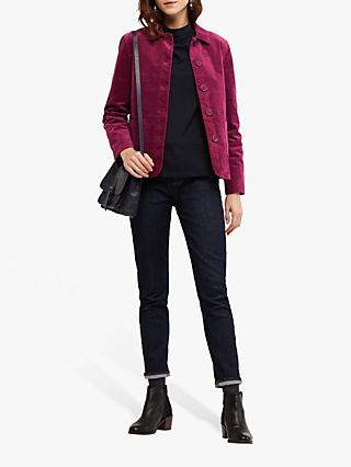 White Stuff Devin Velvet Worker Jacket