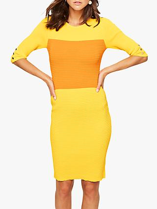 Damsel in a Dress Morna Knit Dress, Yellow/Orange