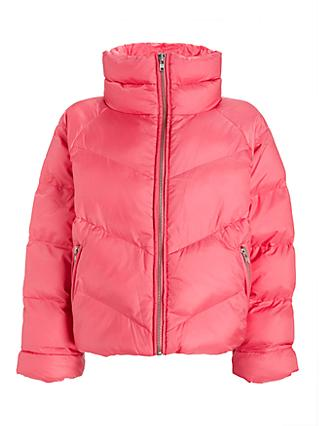 Gestuz Joyleegz Puffer Jacket, Rapture Rose