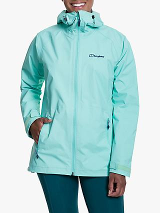 Berghaus Deluge Pro Women's Waterproof Jacket, Opal