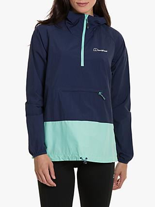 Berghaus Skerray Women's Windproof Jacket, Dusk/Opal