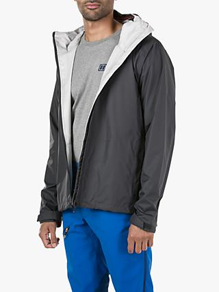 Berghaus Deluge Vented Men's Waterproof Jacket, Carbon